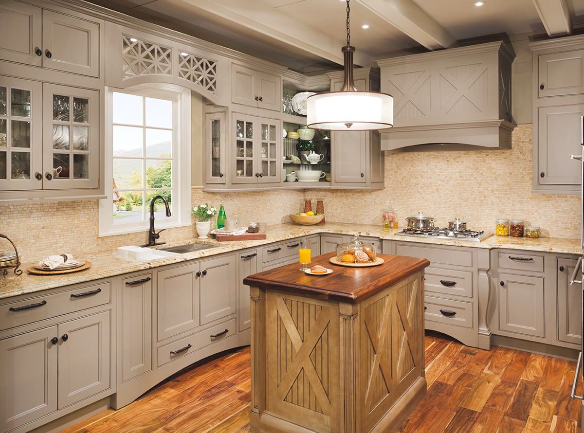 Kitchen Cabinets sold at Curtis Lumber at the Ballston Spa